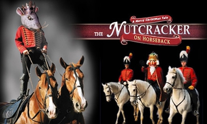 """Noble Horse Theatre - Near North Side: $15 for One Adult Ticket ($30 Value) or $11 for One Child's Ticket ($22 Value) to """"The Nutcracker on Horseback"""" at Noble Horse Theatre"""
