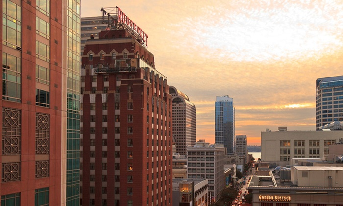 The Roosevelt Hotel - Central Business District: One-Night Stay for Two in a Deluxe King Room at The Roosevelt Hotel in Seattle