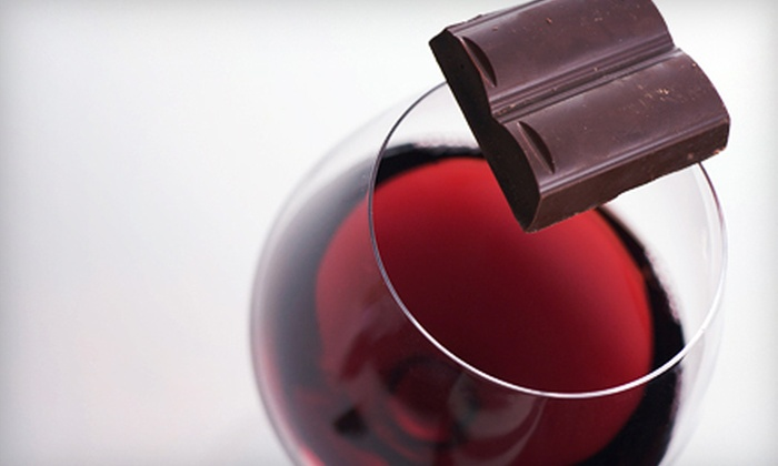 Taste - Multiple Locations: Wine-Tasting Class with Chocolate Pairings for Two or Four at Taste (Up to 61% Off). Two Locations Available.