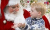 12 Stories Santa Pictures - Town Center At Cobb: Photo Package at 12 Stories Santa Pictures in Kennesaw (Up to 60% Off). Three Options Available.