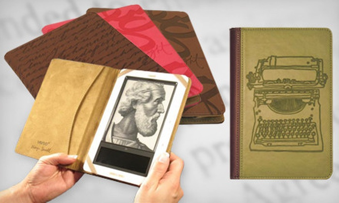 E-Reader and Tablet Covers: $15 for a Verso Artist Series Tablet Cover ($39.99 Value). Five Designs Available. Shipping Included. Ships in 7-10 days. May not arrive by 12/24.
