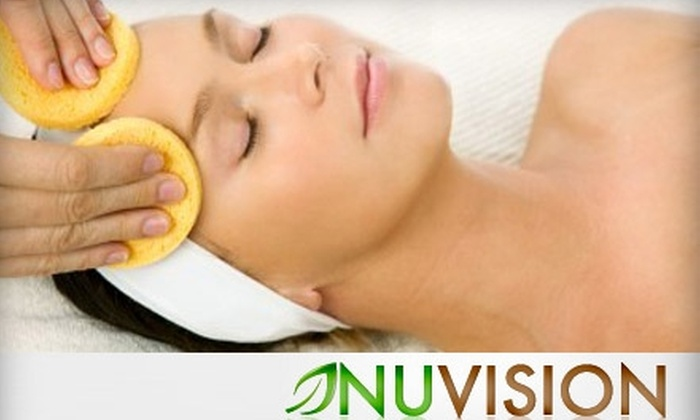 Nuvision Medspa - Midtown Center: $49 for a Deep Pore-Cleansing Facial at NuVision Medspa