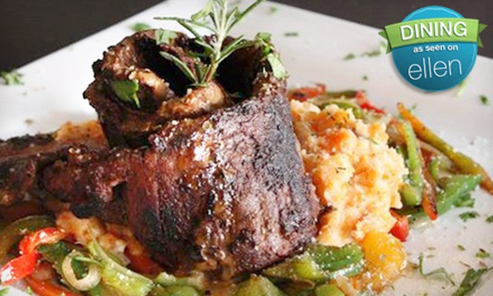 Café Bella - Logan Square: $39 for a Four-Course Prix-Fixe Contemporary American Dinner for Two at Café Bella (Up to $112.65 Value)