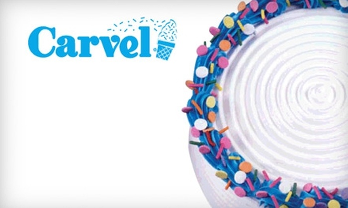 Carvel - Ridgefield: $4 for $8 Worth of Ice-Cream Products or $10 for $20 Worth of Ice-Cream Cakes at Carvel in Ridgefield
