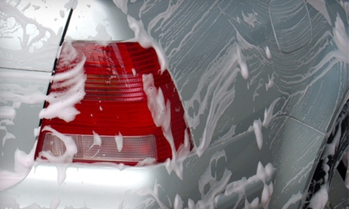 Carwood Hand Car Wash - Lakewood: $10 for a Gold Finish Car Wash (Up to $21.99 Value) or $25 for a Carnauba Wax with Regular Wash and Exterior Dressing (Up to $50 Value) at Carwood Hand Car Wash in Lakewood