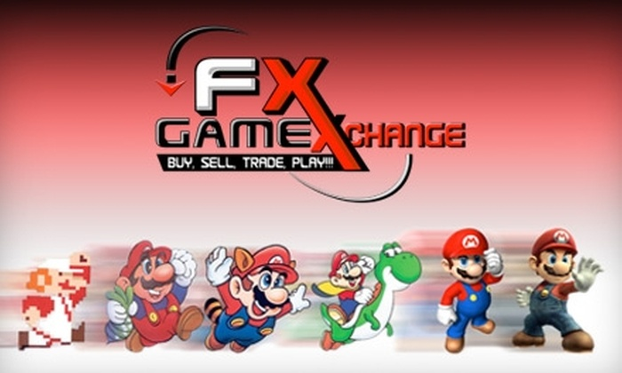 FX Game Exchange - Stonebridge Ranch: $10 for $20 Worth of Video Games at FX Game Exchange