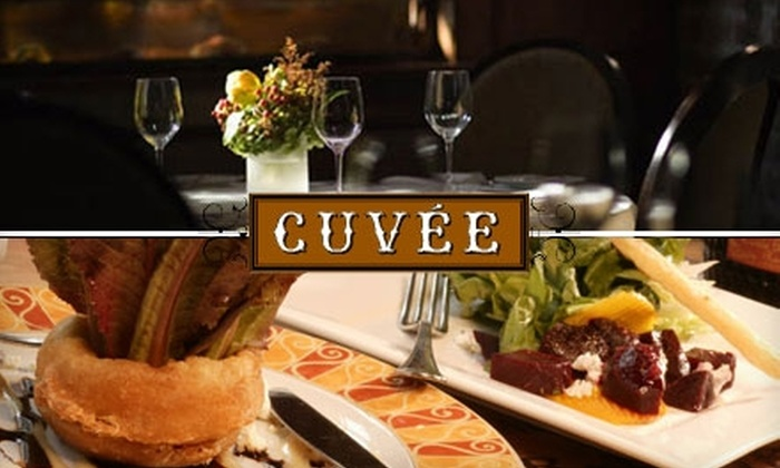 Cuvée - Central Business District: $30 for $60 Worth of Upscale, Contemporary Creole Fare and Drinks at Cuvée