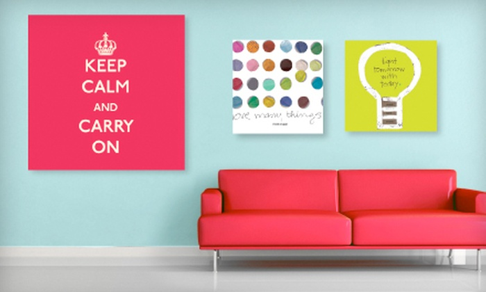 Graphique: Home Décor & Stationery from Graphique. Two Options Available.