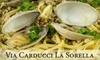 Via Carducci - Multiple Locations: $20 for $40 Worth of Italian Fare and Drinks at Via Carducci