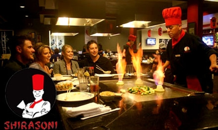 Shirasoni Japanese Restaurant - Multiple Locations: $12 for $25 Worth of Japanese Fare and Drinks at Shirasoni Japanese Restaurant