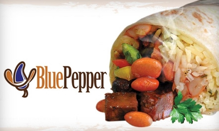 Blue Pepper Grill - South Belvidere: $7 for $15 Worth of Healthy Mexican Eats and Drinks at Blue Pepper Grill