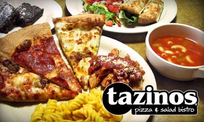 Tazinos - Multiple Locations: $7 for $15 Worth of Self-Serve Italian Fare and Drinks at Tazinos