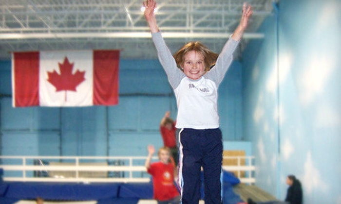 Airborne Trampoline KW - Cambridge: $8 for a One-Hour Open-Jump Play Session for Two at Airborne Trampoline KW ($20 Value)