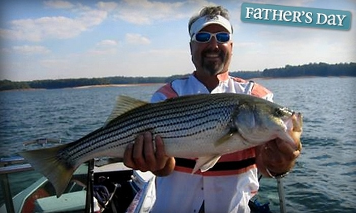 North Georgia Charters - Suwanee: $199 for a Half-Day Chartered Fishing Trip for Up to Four People from North Georgia Charters in Suwanee ($450 Value)