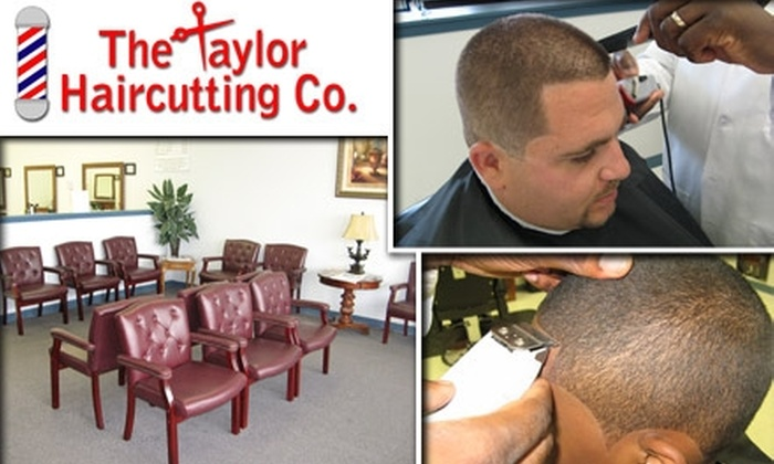 The Taylor Haircutting Company - Fieldstone And Brookstone: $11 for Men's Shampoo & Cut at The Taylor Haircutting Co.