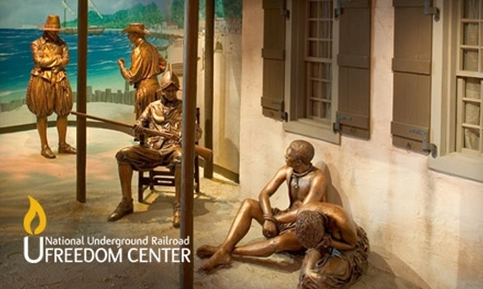 National Underground Railroad Freedom Center - Cincinnati: $15 for an Individual Membership to the National Underground Railroad Freedom Center (Up to $40 Value)