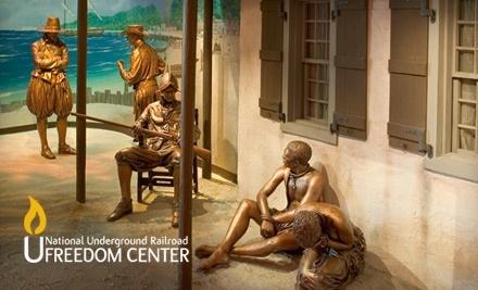 National Underground Railroad Freedom Center - National Underground Railroad Freedom Center in Cincinnati