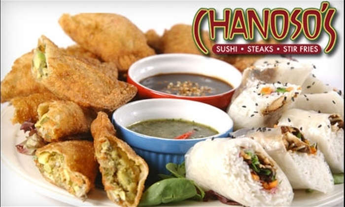 Chanoso's - City Centre: $10 for $20 Worth of Pan-Asian Fare and Drinks at Chanoso's