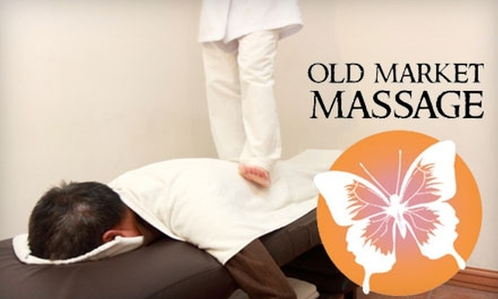 Old Market Massage - Downtown: $40 for a 60-Minute Ashiatsu Massage at Old Market Massage ($80 Value)