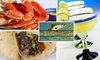 Snookers Grill - Tarpon Springs: $12 for $25 Worth of Seafood and Drinks at Snookers Grill