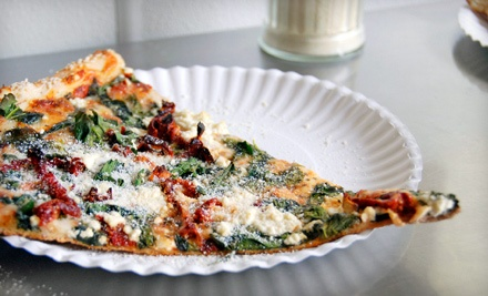 1 16-Inch Cheese Pizza and Choice of 2 Cocktails, Glasses of House Wine, or Beers (a $25 value) - Stingers Pizza in Pompano Beach