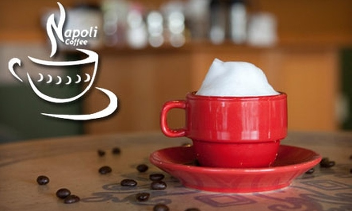 Napoli Coffee - Duke City Industrial Area: $7 for $15 Worth of Coffee and More at Napoli Coffee