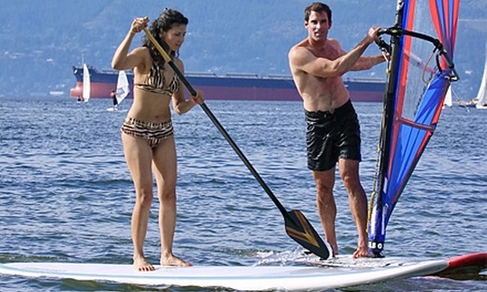 Windsure Adventure Watersports - Vancouver: Group Lesson at Windsure Adventure Watersports. Two Options Available.