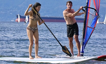 Windsure Adventure Watersports: One 1-Hour Group Paddle-Surfing Lesson - Windsure Adventure Watersports in Vancouver