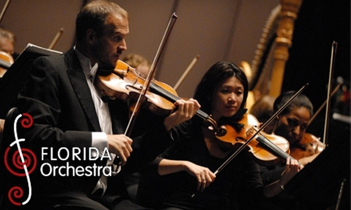 Florida Orchestra - Downtown St. Petersburg: $50 for Two Tickets to Any Florida Orchestra Masterworks or Pops Concert