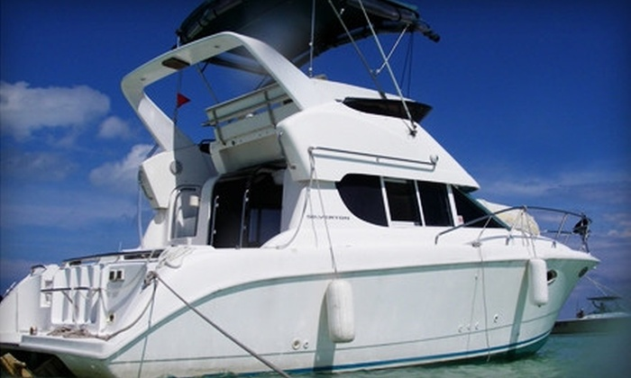 South Beach Charters, LLC - Media and Entertainment District: Three-Hour Private Yacht Charter for Up to Six on a Weekday or Weekend from South Beach Charters LLC (Up to 56% Off