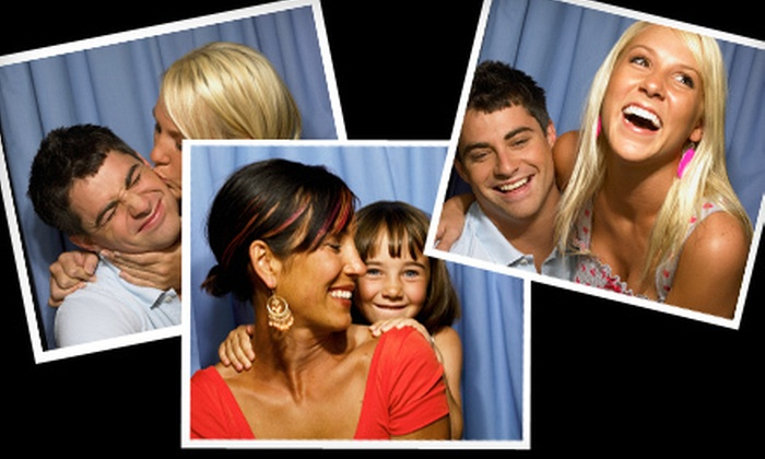 The Memory Machine - North Brunswick: $599 for a Four-Hour Photo-Booth Rental with Event Scrapbook from The Memory Machine in Jersey City ($1,200 Value)