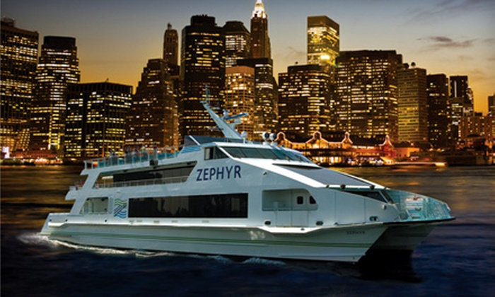 Happy Hour on the Harbor Cruise from Circle Line Downtown. 14 Dates Available.