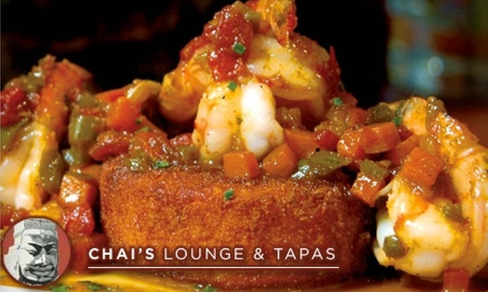 Chai's Lounge & Tapas - Mazyck - Wraggborough: $20 for $40 Worth of East-West Fusion Fare and Drinks at Chai's Lounge & Tapas