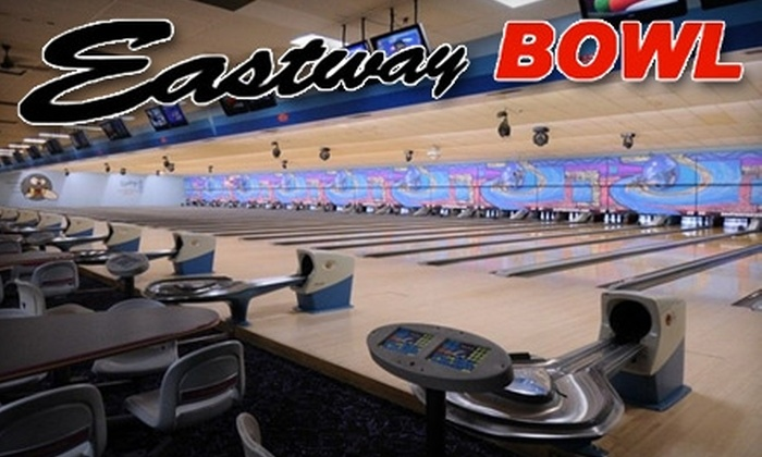 Eastway Bowl - Sioux Falls: $5 for Bowling and More at Eastway Bowl. Choose from Two Options.