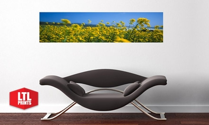 Larger Than Life Prints - Columbus: $35 for a Panoramic Wall Mural from Larger Than Life Prints