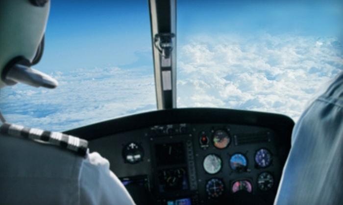 Air East Airways - East Farmingdale: $189 for One-Hour First Flight Experience Package at Air East Airways in Farmingdale ($299 Value)