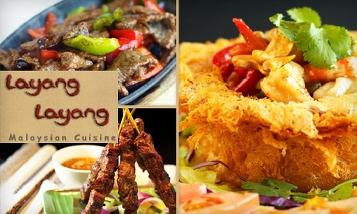 Layang Layang - Brookvale - Chantel: $10 for $25 Worth of Malaysian Cuisine and Drink at Layang Layang