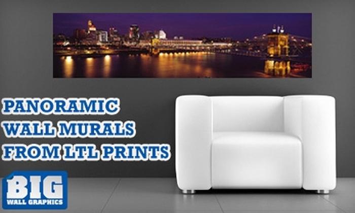 Larger Than Life Prints - Cincinnati: $35 for a Panoramic Wall Mural from Larger Than Life Prints