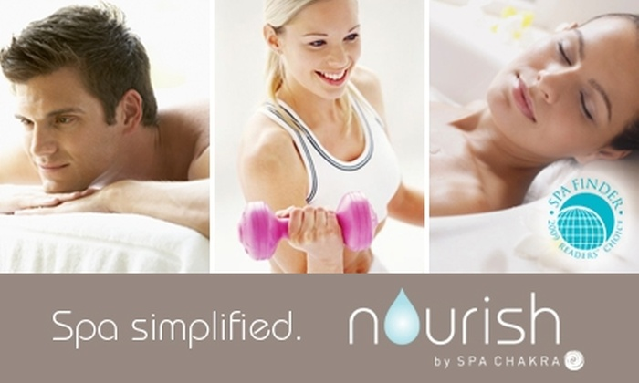 Nourish by Spa Chakra - Downtown: $89 for $270 Worth of Services or a Three-Month Gym Membership at Nourish by Spa Chakra