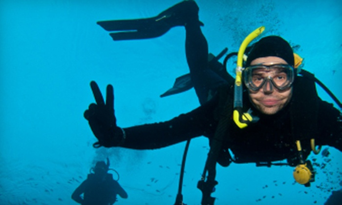 Aquatic Sports - West Portland Park: Basic Scuba-Certification Course or Scuba-Skills-Refresher Course at Aquatic Sports (Up to 56% Off)