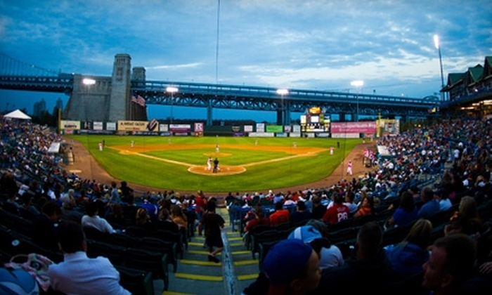 Camden Riversharks Baseball - Camden: $125 for Admission to Instructional Kids' Camp and 10 Game Tickets (Up to $300 Value) or $35 for Eight Game Tickets ($96 Value) to Camden Riversharks Baseball
