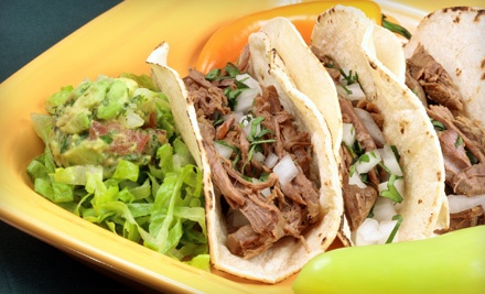 Lunch for 2 (up to a $21.60 value) - Guadalajara Mexican Restaurant in Sioux Falls