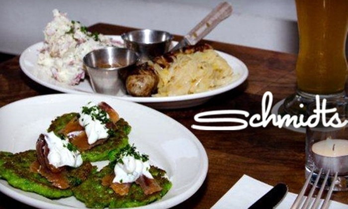 Schmidt's - Mission: $15 for $30 Worth of Modern German Fare and Drinks at Schmidt's