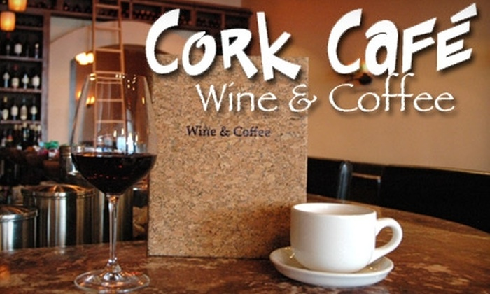 Cork Café Wine & Coffee - Houston: $10 for $20 Worth of Gourmet Cheese, Coffee, and More at Cork Café Wine & Coffee