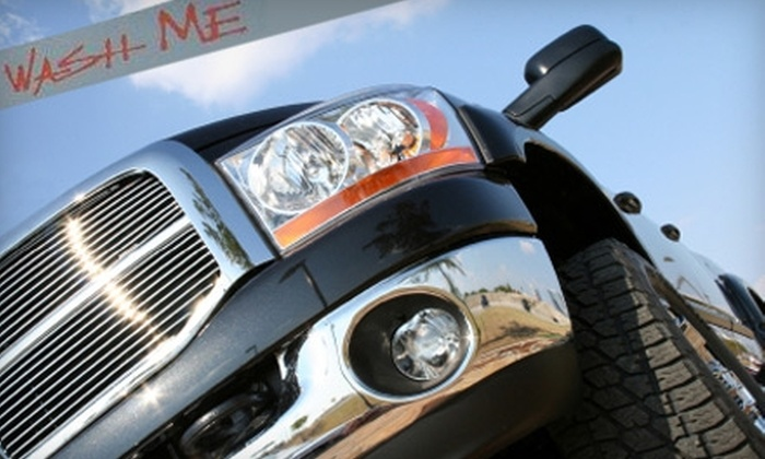 Wash Me - Cleveland: $49 for One Month of Unlimited Super Washes at Wash Me Car Wash in Mentor