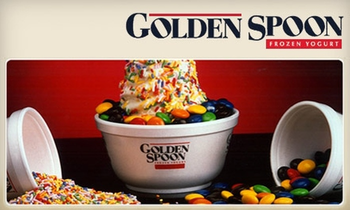 $5 for Frozen Yogurt at Golden Spoon - Golden Spoon Frozen Yogurt ...