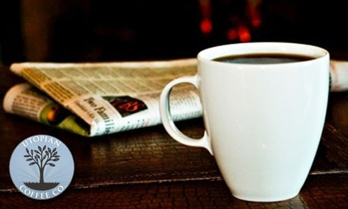 Utopian Coffee Co.: $15 for $30 Worth of Locally Roasted Coffee from Utopian Coffee Co.