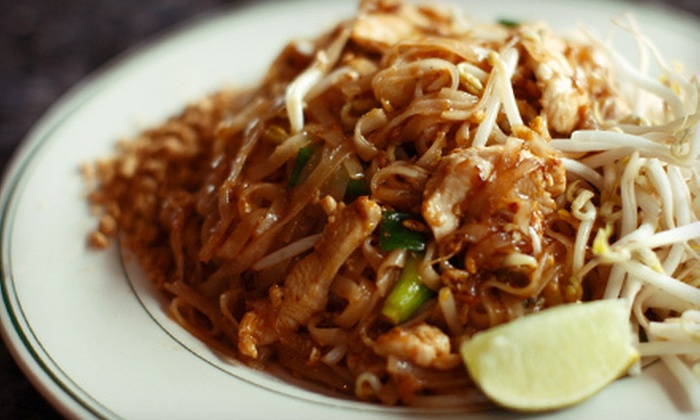 Baan Thai - Riverview: Thai Fare at Baan Thai in Waltham (Half Off). Two Options Available.