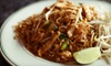 Baan Thai - Bank Square: Thai Fare at Baan Thai in Waltham (Half Off). Two Options Available.