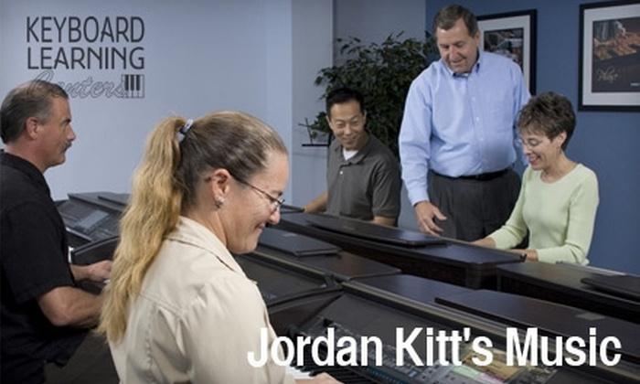 Jordan Kitt's Music - Multiple Locations: $32 for Two Half-Hour Private Music Lessons from Keyboard Learning Centers at Jordan Kitt's Music
